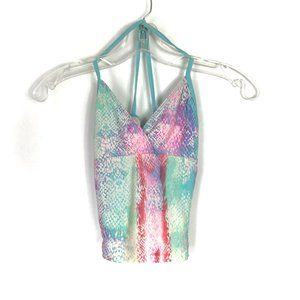 Childrens Place Swimsuit Tank Top Snakeskin M 7/8